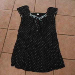 Nightgown XL Croft & Barrow-Black